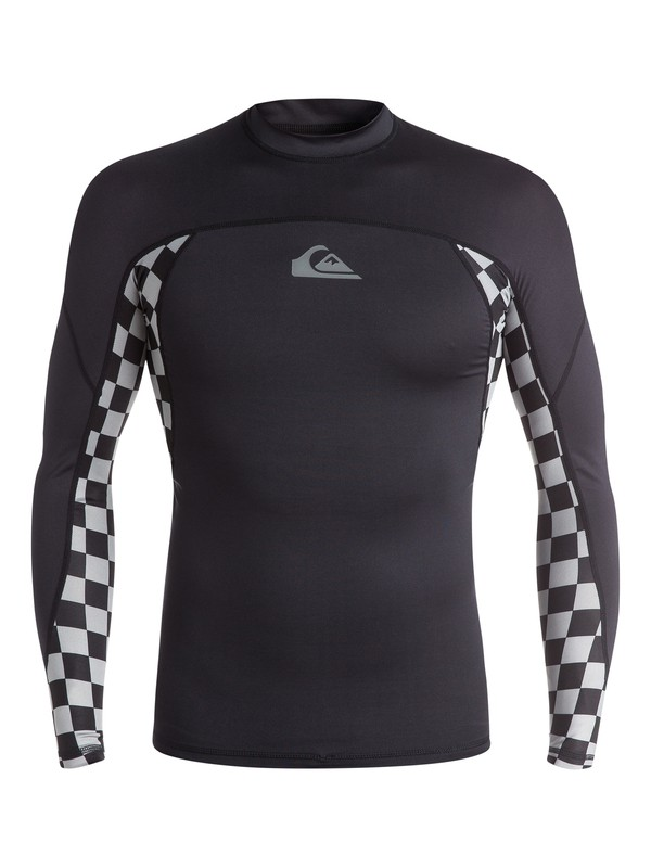 0 Check Out Long Sleeve Rashguard  EQYWR03016 Quiksilver
