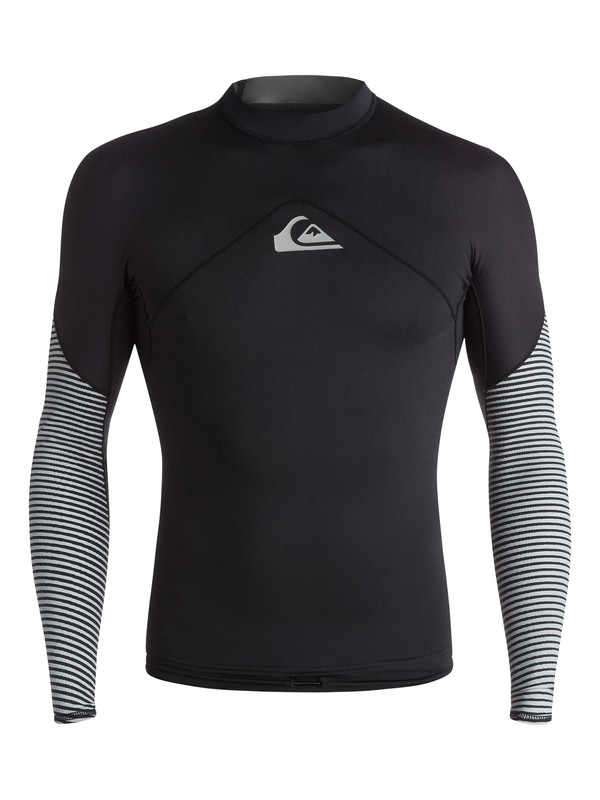 0 Tropix - Surf tee manches longues Noir EQYWR03019 Quiksilver