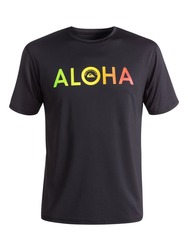 0 Aloha Rashguard  EQYWR03025 Quiksilver