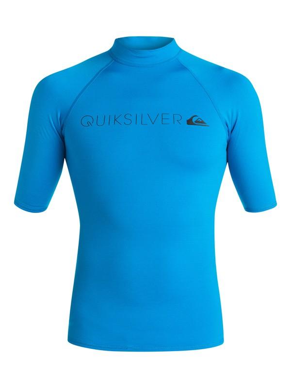 0 Heater - Surf tee Bleu EQYWR03026 Quiksilver