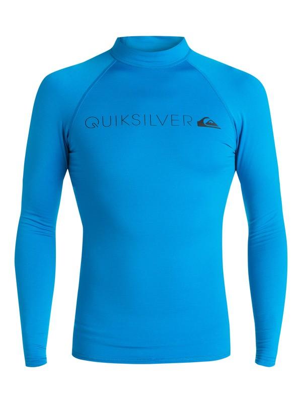0 Heater - Surf tee Bleu EQYWR03031 Quiksilver