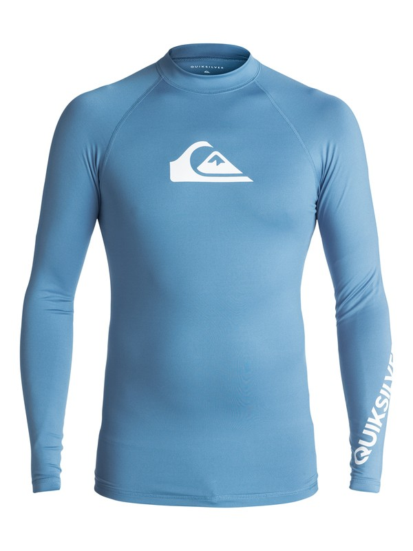 0 All Time  - Lycra manches longues UPF 50 Bleu EQYWR03034 Quiksilver