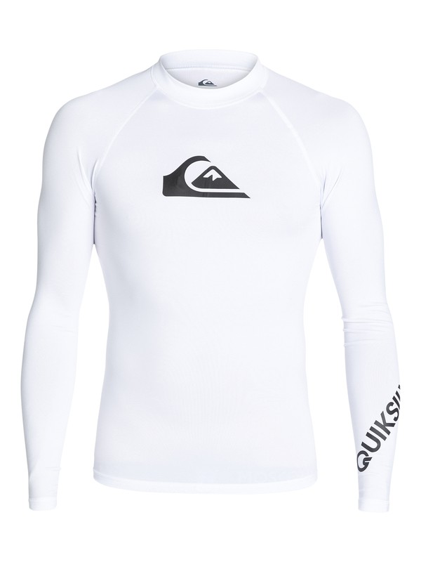 0 All Time  - Lycra manches longues UPF 50 Blanc EQYWR03034 Quiksilver