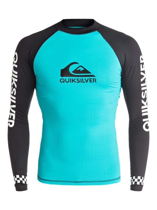 0 On Tour Long Sleeve Rashguard  EQYWR03040 Quiksilver