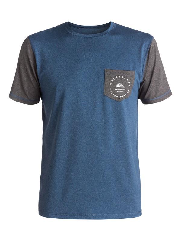 0 Badge Pocket Tee Rashguard  EQYWR03047 Quiksilver