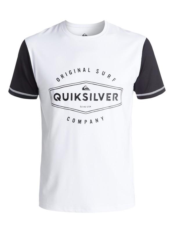 0 Last Call - Short Sleeve Rash Vest  EQYWR03054 Quiksilver