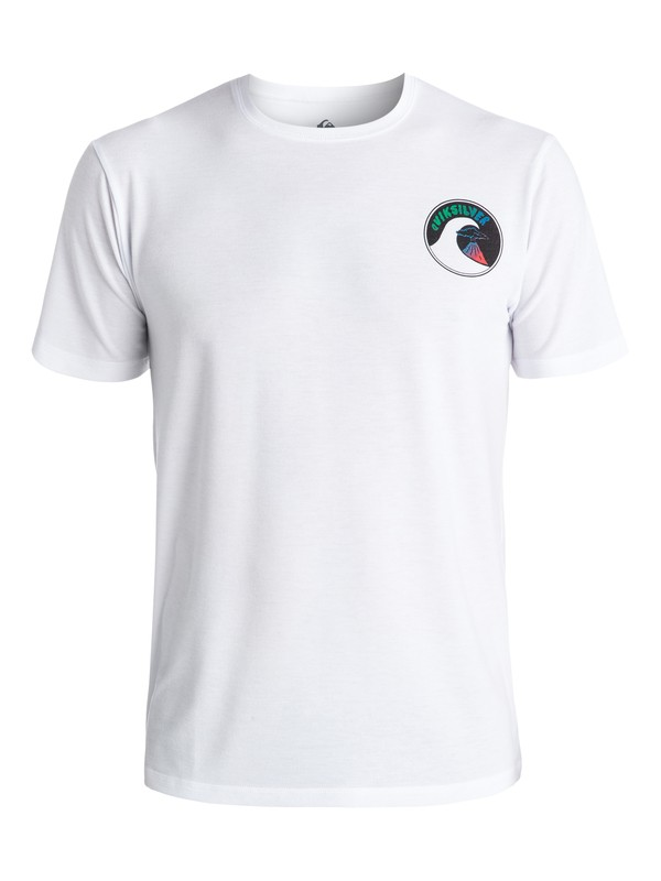 0 Parad Amphibian Surf - Surf tee Blanc EQYWR03055 Quiksilver
