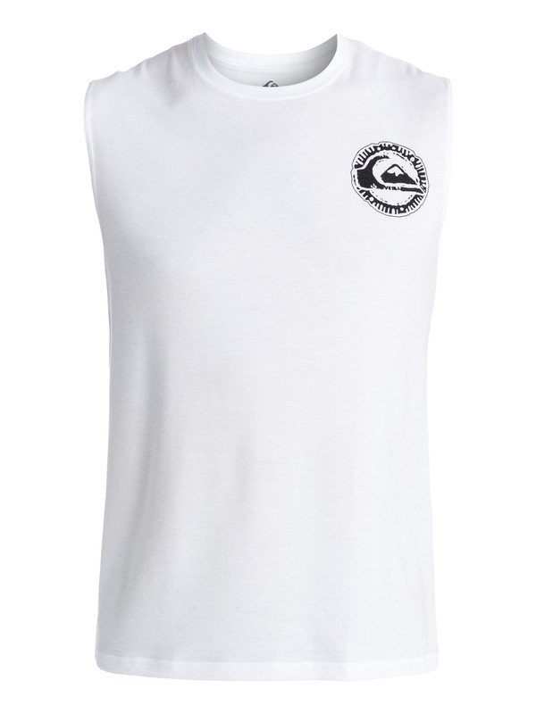 0 Too Many - Sleeveless Rash Vest  EQYWR03056 Quiksilver