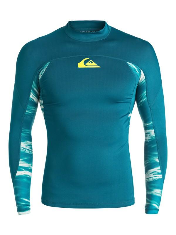0 New Wave Long Sleeve Rashguard  EQYWR03061 Quiksilver