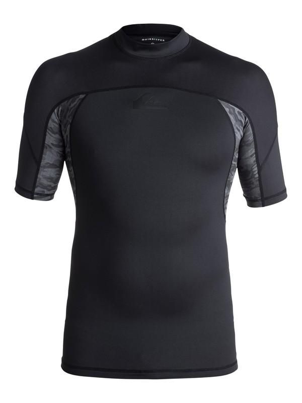 0 New Wave - Lycra à manches courtes anti-UV Noir EQYWR03079 Quiksilver