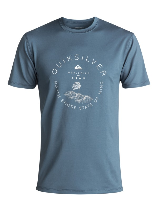 0 Radical Surf - Surf-Tee Amphibian UPF50 Bleu EQYWR03085 Quiksilver