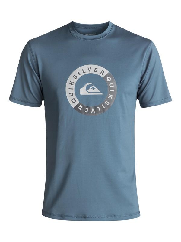 0 Scrypto Surf - Surf-Tee Amphibian UPF50 Bleu EQYWR03086 Quiksilver