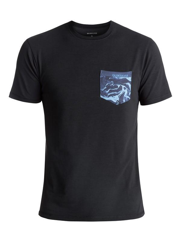 0 Bubble Surf - Surf-Tee Amphibian UPF50 Noir EQYWR03093 Quiksilver
