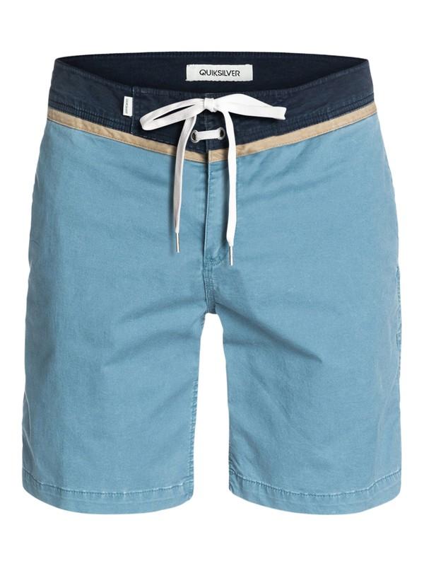 "0 Street Trunk Yoke, 19"" Shorts  EQYWS03010 Quiksilver"
