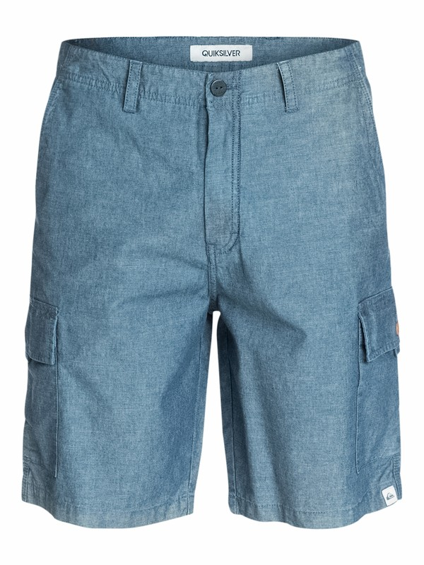 0 Everyday Cargo Short Chambray  EQYWS03032 Quiksilver