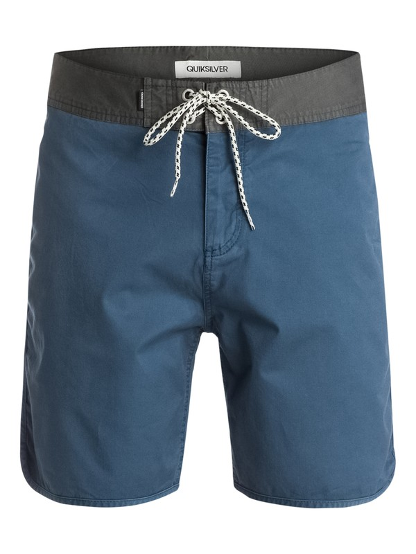 "0 Street Trunk Scallop 19"" Shorts  EQYWS03073 Quiksilver"