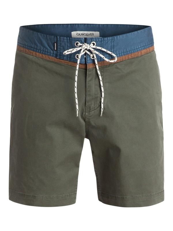 "0 Street Trunk Yoke 19""Shorts  EQYWS03096 Quiksilver"
