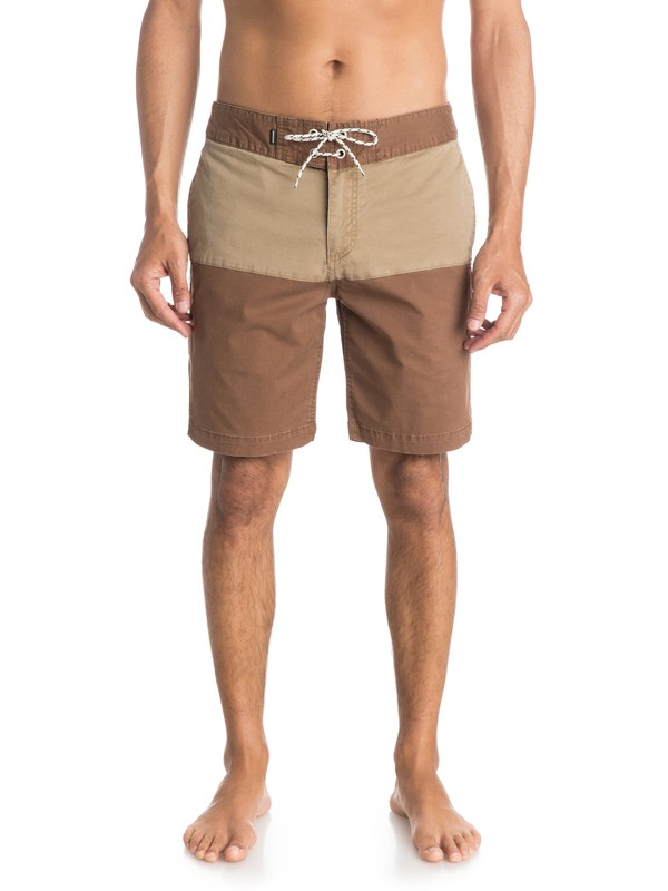 "0 Street Trunk Yoke Panel 18"" Shorts  EQYWS03142 Quiksilver"