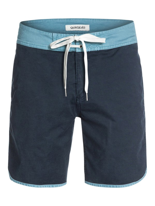 "0 Scallop 19"" Street Trunks  EQYWS03145 Quiksilver"