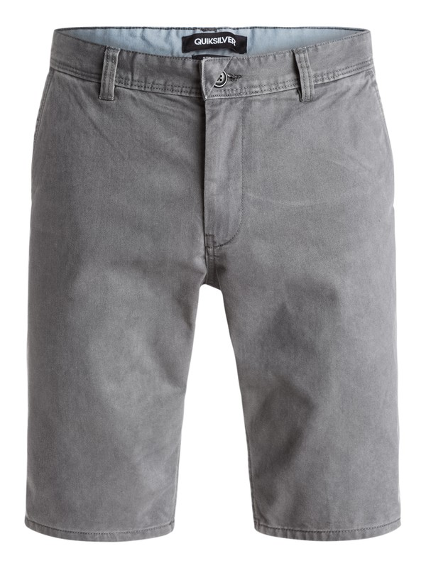 0 Everyday Chino - Short Noir EQYWS03163 Quiksilver