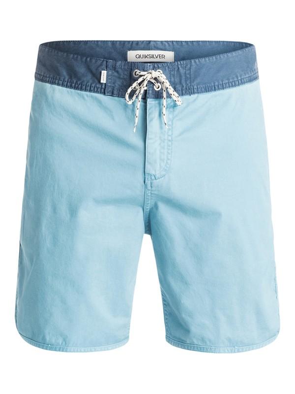 0 Street Trunk Scallop - Short Bleu EQYWS03173 Quiksilver