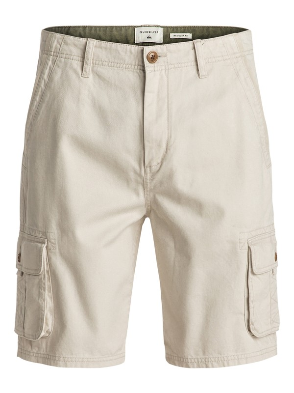 0 Everyday Deluxe Cargo Shorts Grey EQYWS03250 Quiksilver