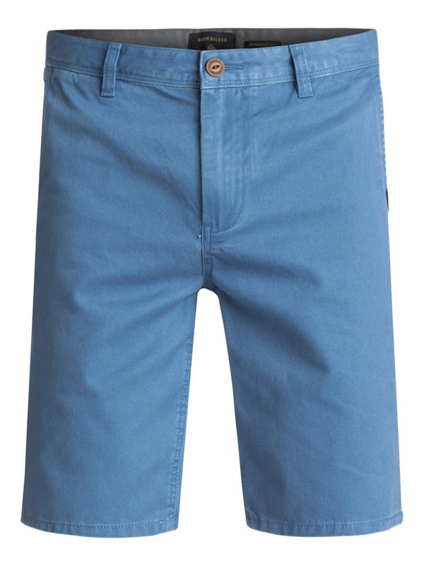 0 Everyday Chino Shorts Blue EQYWS03252 Quiksilver