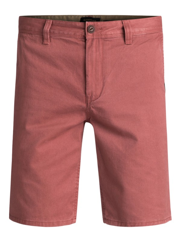 0 Everyday Chino Shorts Brown EQYWS03252 Quiksilver