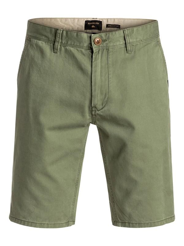 0 Everyday Chino Shorts Green EQYWS03252 Quiksilver