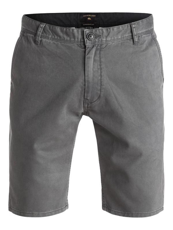 "0 Everyday 21"" - Short en sergé Noir EQYWS03252 Quiksilver"