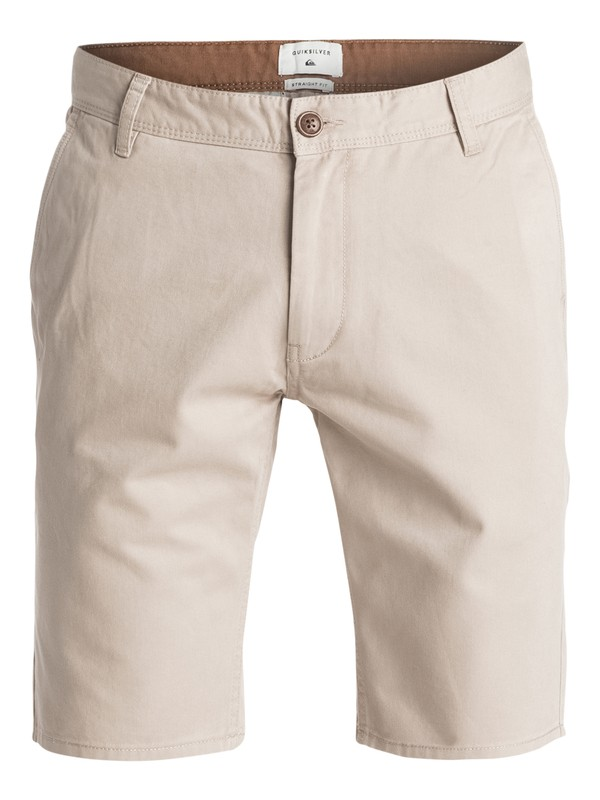 "0 Everyday 21"" - Short en sergé Beige EQYWS03252 Quiksilver"