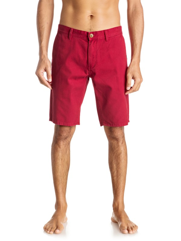 "0 Everyday 21"" - Short en sergé Rouge EQYWS03252 Quiksilver"