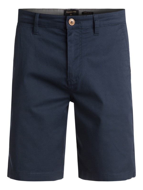 0 Everyday Union Stretch Chino Shorts  EQYWS03253 Quiksilver