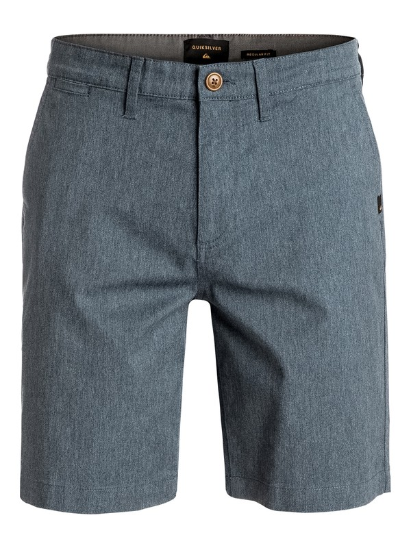 0 Everyday Union Stretch Chino Shorts Blue EQYWS03253 Quiksilver