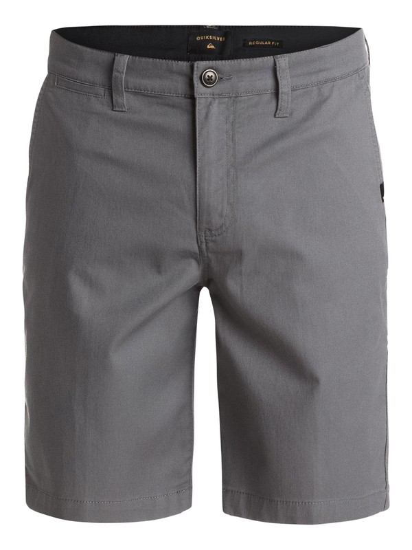 0 Everyday Union Stretch Chino Shorts Black EQYWS03253 Quiksilver
