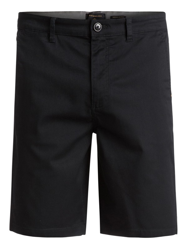 "0 Everyday Union Stretch 21"" - Short en sergé Noir EQYWS03253 Quiksilver"