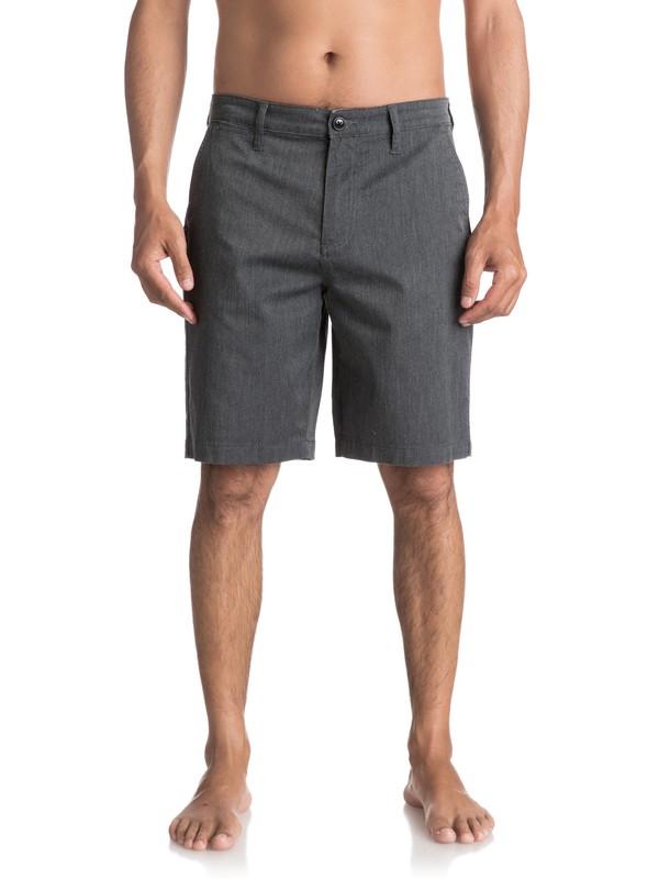 0 Everyday Union Stretch Chino Shorts Black EQYWS03253 Quiksilver