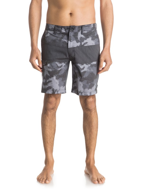 "0 The Panel Amphibian 19"" Shorts  EQYWS03321 Quiksilver"