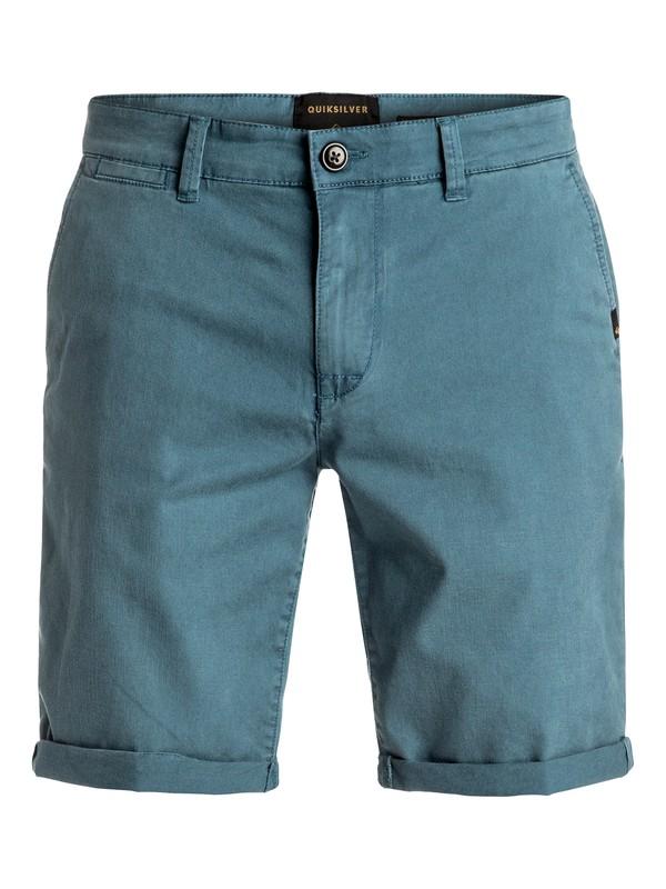 0 Krandy St - Short en sergé Bleu EQYWS03324 Quiksilver