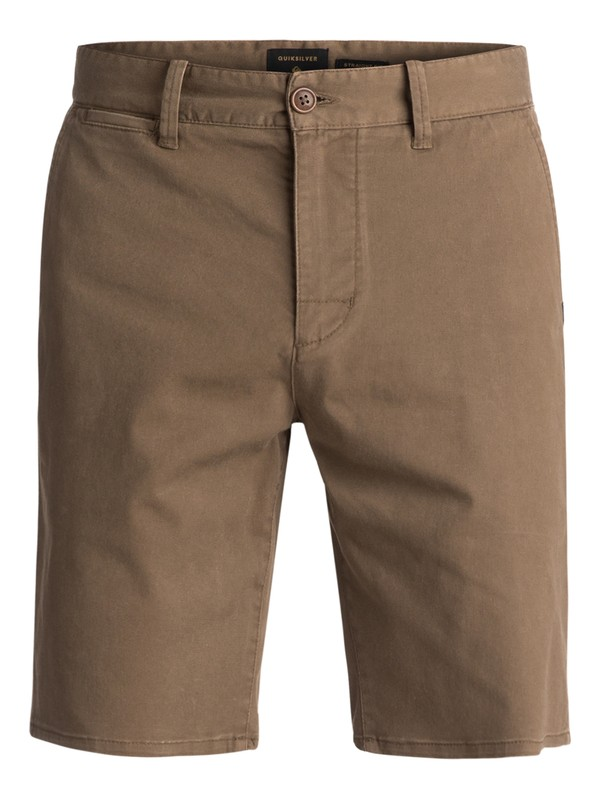 0 Krandy St Chino Shorts Brown EQYWS03324 Quiksilver