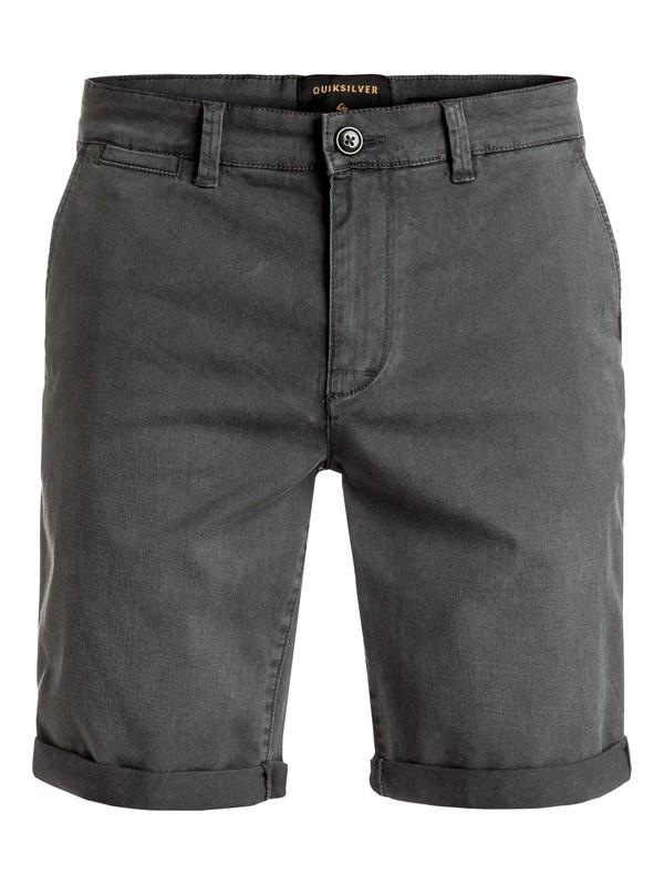 0 Krandy St - Short en sergé Noir EQYWS03324 Quiksilver
