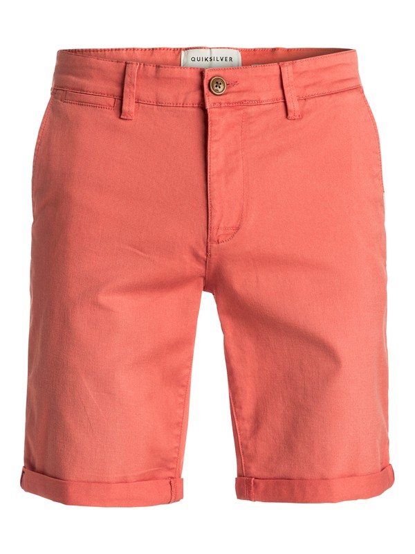 0 Krandy - Short en sergé Orange EQYWS03324 Quiksilver