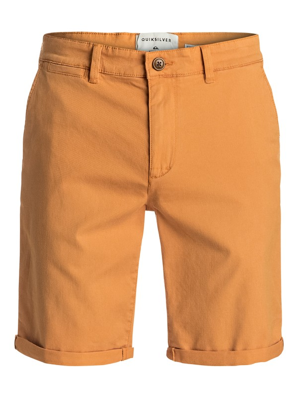 0 Krandy St - Short en sergé Orange EQYWS03324 Quiksilver