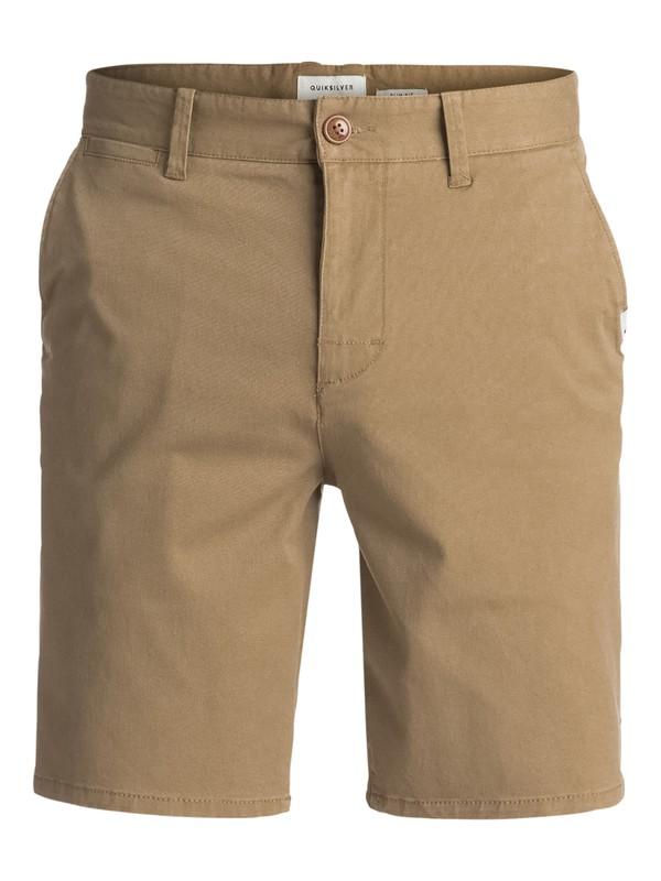 0 Krandy St Chino Shorts Beige EQYWS03324 Quiksilver