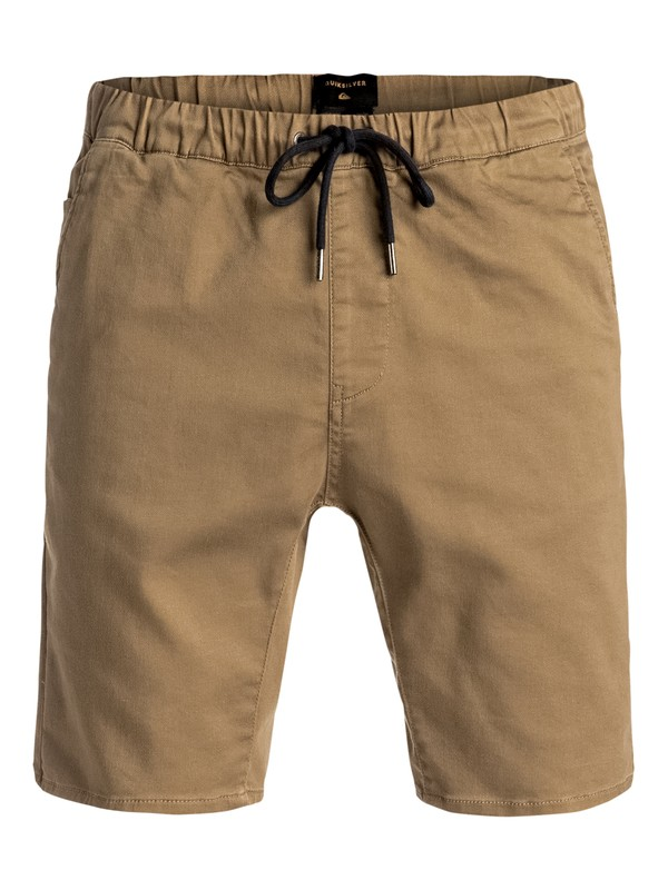 """0 Fonic 19"""" - Pantalon de jogging en sergé Beige EQYWS03337 Quiksilver"""