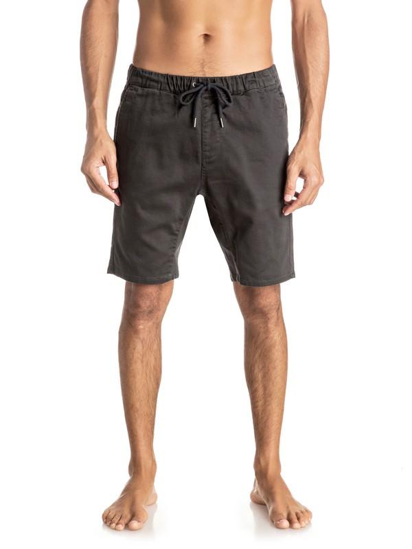 """0 Fonic 19"""" - Pantalon de jogging en sergé Noir EQYWS03337 Quiksilver"""