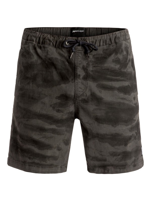 "0 Battered Tie Dye 17"" Shorts  EQYWS03356 Quiksilver"