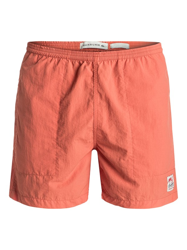 "0 Dynasty Walls 16"" - Short Orange EQYWS03357 Quiksilver"