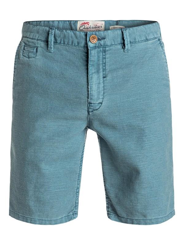 0 Greenwood Cutty - Short en sergé Bleu EQYWS03358 Quiksilver