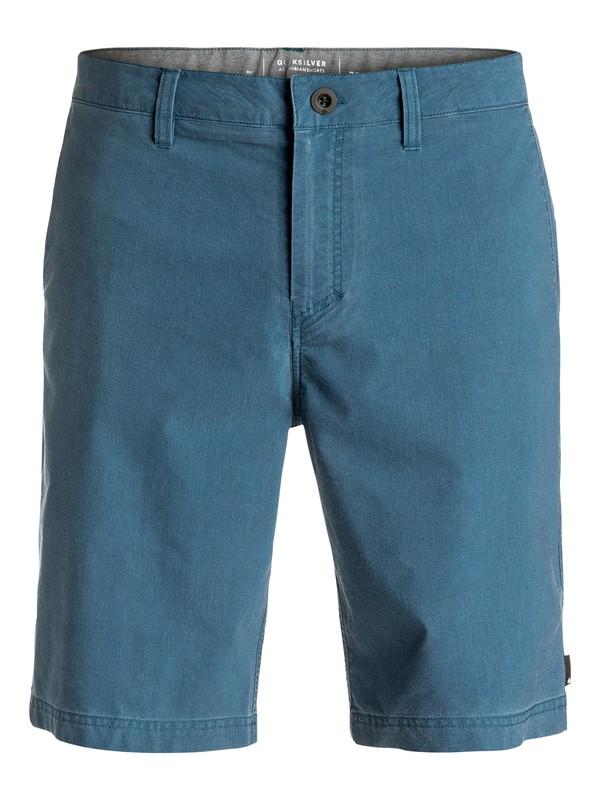 """0 Washed Amphibian 20"""" - Short Bleu EQYWS03364 Quiksilver"""
